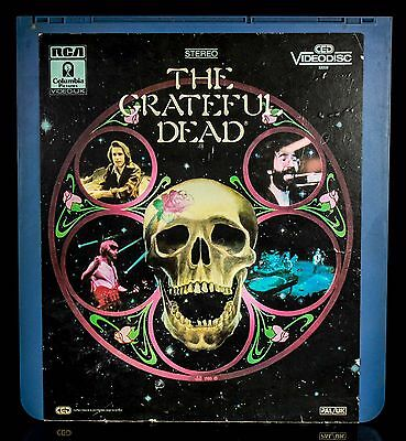 Rare Vintage The Grateful Dead Stereo Ced Videodisc Rca Pal/uk Columbia Pictures