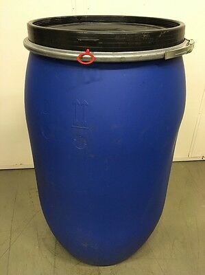 barrel cover made of Polyethylene (PE) with Clamping Ring 220L Blue Lid ton