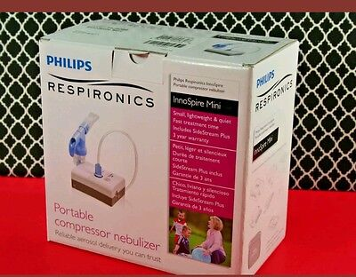 New InnoSpire Mini Compressor Nebulizer Phillips Respironics with battery..NEW