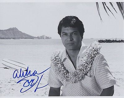 Signed Original B&W Photo of Don Ho of 1960's Music Recordings & TV