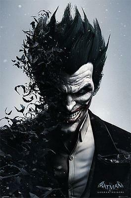 NEW * JOKER * BATMAN ARKHAM PYRAMID MAXI POSTER 62cm X 91cm  ...no89