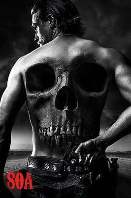 NEW * SKULL * SONS OF ANARCHY  PYRAMID MAXI POSTER 62cm X 91cm  ...no64