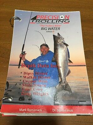 PRECISION TROLLING The Trollers Bible BIG WATER EDITION 2 Romanack Holt