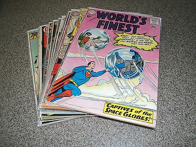 Worlds Finest Lot Of 14 Books 114-238