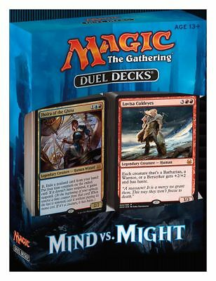 Magic Duel Decks Mind vs. Might (Englisch) Planeswalker 2 Decks Karten Magic MGT