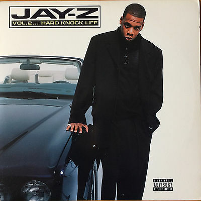 "Jay-Z ""Vol. 2...Hard Knock Life"" 2/LP"
