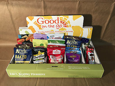 Honor Snack Box Vending - healthy snack messaging