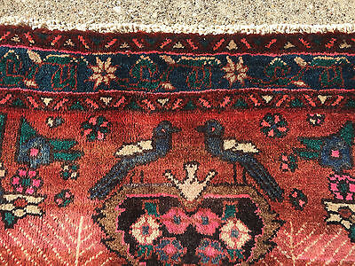 4x6 HAND KNOTTED PERSIAN IRAN RUG WOVEN MADE ANTIQUE 4 x 6 wool 5 7 8 heriz rugs