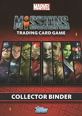 Topps Marvel Hero Attax Missions Cards FULL SET of 272 + binder + 4 LIMITEDS!