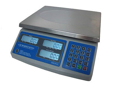 SWS-PCS-60, 60 lb Dual Range Price Computing Deli Meat Digital Scale-lbs,kgs,ozs