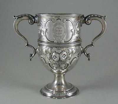 Antique Georgian Repousse Silver Trophy Cup Peter Ann William Bateman 1801