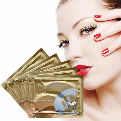 Under eye pads collagen Mask Crystal Patch dark circle Anti Aging Gold edition