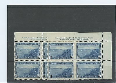 #242 Halifax Harbour UR plate blk #1 VF MNH PICK 1 ONLY Cat$150 Canada mint