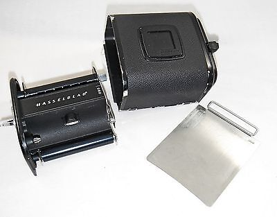 Hasselblad A12 Black Dot Film Back with Matching Insert and dark slide