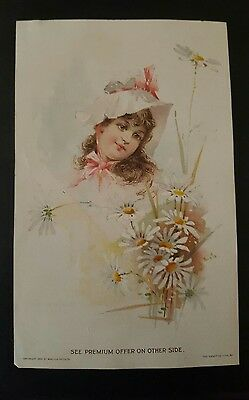Lion Coffee / Woolson Spice Co Toledo, Ohio Victorian Trade Card