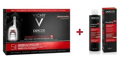 VICHY DERCOS NEOGENIC 28x6ml - For Men/Women - Hair Loss Treatment & Prevention