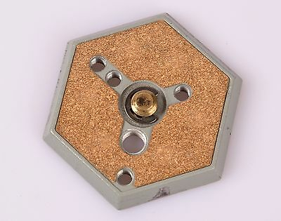 """Bogen Manfrotto Quick Release Hex Plate in Cork with 3/8"""" Brass Thread"""