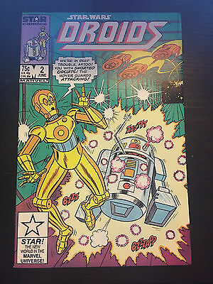 Star Wars Droids (1986 1st Series Marvel/Star Comics) #2 VF Very Fine Comics