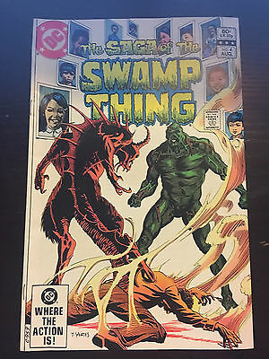 Swamp Thing (1982 2nd Series) #4 FN Fine DC Comics