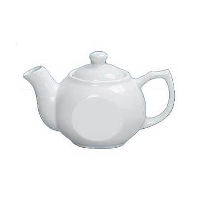 Yanco Porcelain White Accessories Coffee/Teapot with Raised Lid, 10 Ounce -- 36