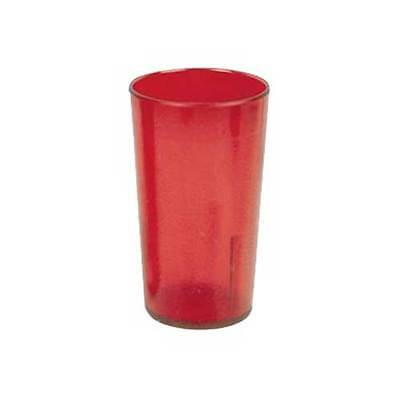 Yanco Plastic Red Tumbler, 20 Ounce -- 72 per case.