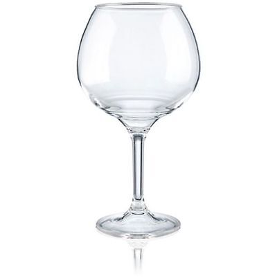 Araven Polycarbonate Transparent Stem Balloon Wine Glass, 28 Ounce -- 24 per