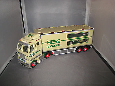 2003 Hess Toy Truck and Race Car