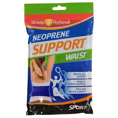 Neoprene Waist Support Hook and loop fastening Warms and Soothes Secure Sport