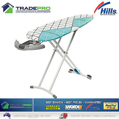 Hills® Ironing Board Extra Large with Rotating Caddy Professional with Bonuses