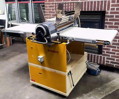 Rondo Sko 63 Bakery Equipment Tabletop Dough Sheeter Croissant Pastry Lamination