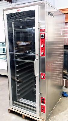 Piper Rip-1 Stainless Roll In Rack Bread Dough Proofing Heated Cabinet Proofer