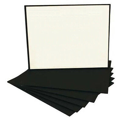 Black Economy Canvas Panel 8X10 Box of 50 Bulk Discount Acid Free Artist Canvas