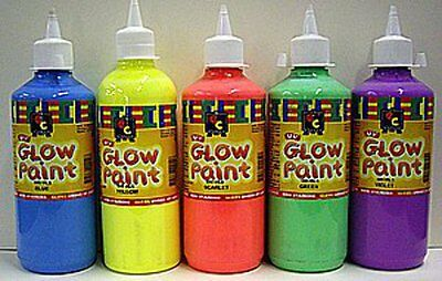 EC Glow Paint Fluro Acrylic Paints 500ml