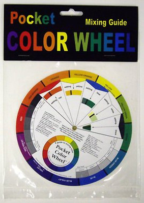 Colour Wheel Artists Colour Mixing Guide 13cm Diametre