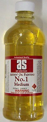Art Spectrum Artists Oil Painting Medium Number 2 500ml