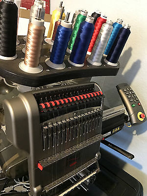 Melco Amaya XT 16 Color Industrial Embroidery Machine