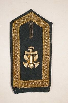 WW2 German Kriegsmarie Coastal Artillery Single Shoulder Board
