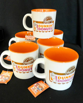 Dunkin Donuts Bakery Series COFFEE CUP Mug YUM TIME TO MAKE THE DONUTS