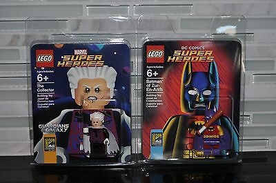 Lego Sdcc Comic Con 2014 Exclusives Batman Of Zur-En-Arrh & The Collector New