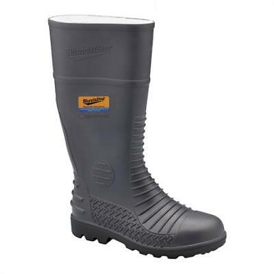 Blundstone 024 Gumboot Safety Steel Toe Cap Midsole Protection Black Size 7 Pair