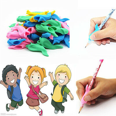 10pcs/lot Children Pencil Holder Writing Hold Pen Grip Posture Correction Tool d