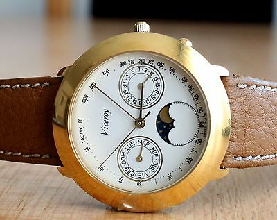Viceroy moon phase day-date quartz women's watch PARTS