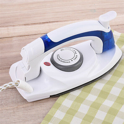 Mini Travel Iron 800 Watt Steam Portable Compact Non Stick New