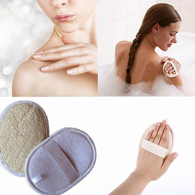 Natural Loofah Luffa Bath Shower Sponge Body Scrubber Exfoliator Washing Pad New