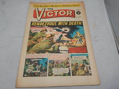 THE VICTOR COMIC No 301 ~ Nov 26th 1966 ~ Rendezvous With Death