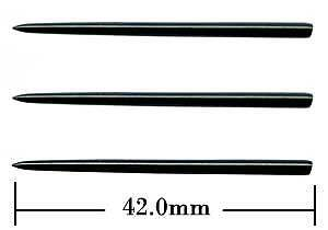 Steel Points - Winmau Extra Long - Black
