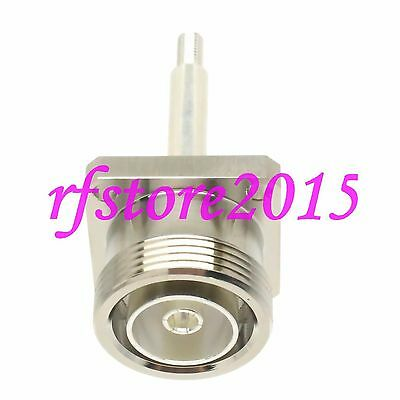 1pce Connector 7/16 DIN L29 female Flange O-ring panel mount RF COAXIAL