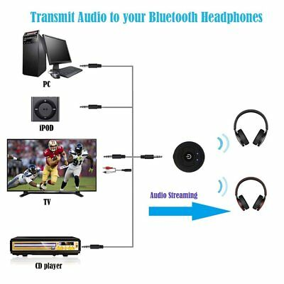 Wireless Bluetooth 4.0 3.5mm TV Audio Stereo Music Receiver Adapter Transmitter