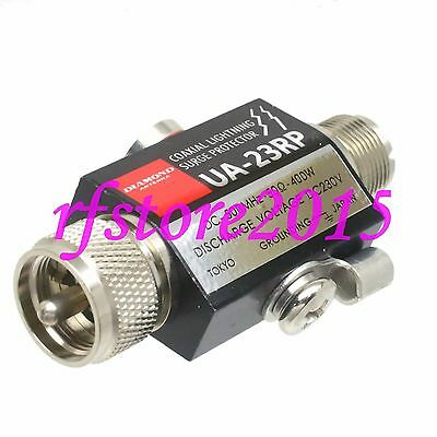 Lightning Arrestor protector UHF PL259 male to SO239 female UA-23RP 1000MHz 400W