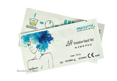 40x LH INNOVITA® Ovulationstest 20mIU/ml *Perfekte Sensivität *Original